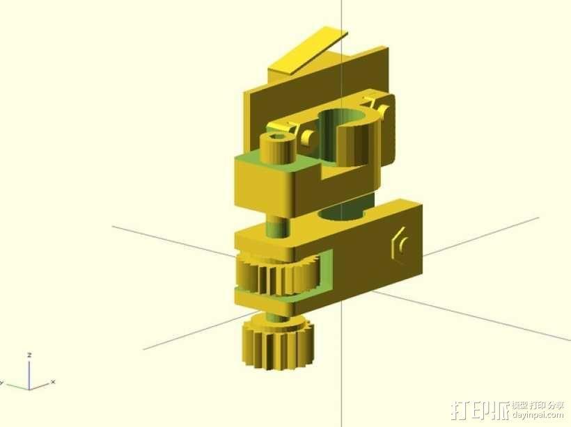 限位开关调谐器 3D模型  图1