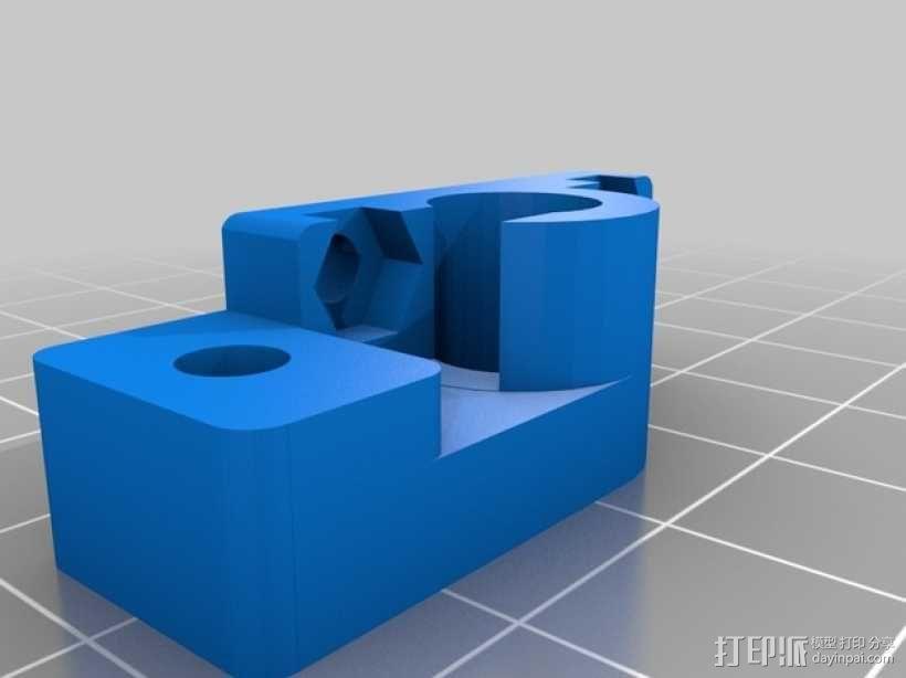 限位开关调谐器 3D模型  图2