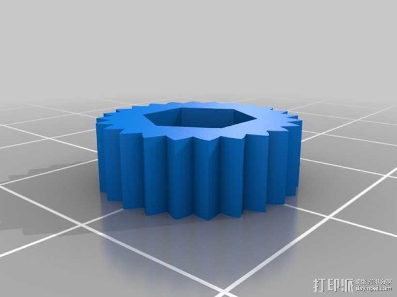 限位开关调谐器 3D模型  图5