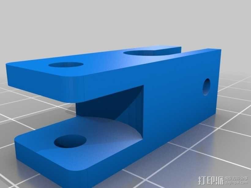 限位开关调谐器 3D模型  图4