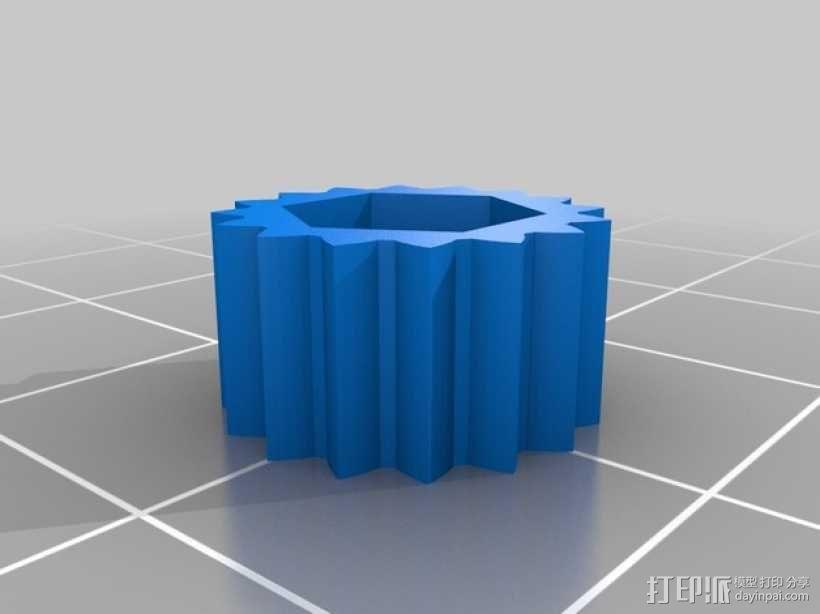 限位开关调谐器 3D模型  图3