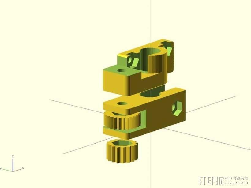 限位开关调谐器 3D模型  图7