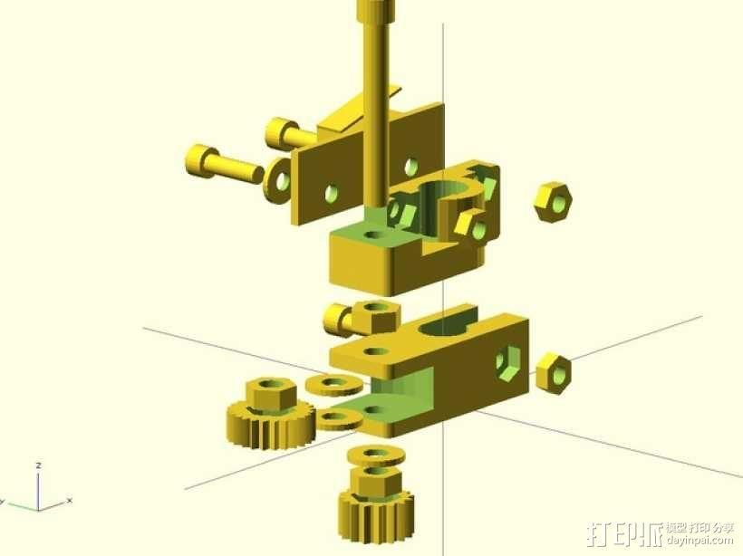 限位开关调谐器 3D模型  图6
