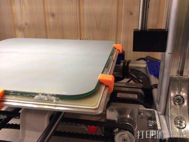 玻璃板夹 3D模型  图3