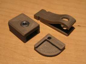 Prusa I3打印机热床支撑套件 3D模型