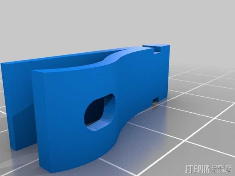 Prusa I3打印机热床支撑套件 3D模型  图3