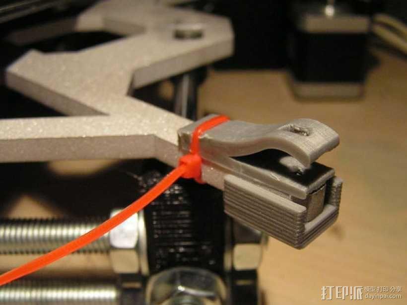 Prusa I3打印机热床支撑套件 3D模型  图6