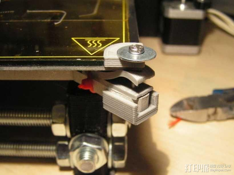 Prusa I3打印机热床支撑套件 3D模型  图7