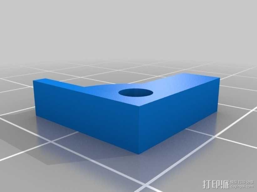 Prusa I3打印机热床支撑套件 3D模型  图5