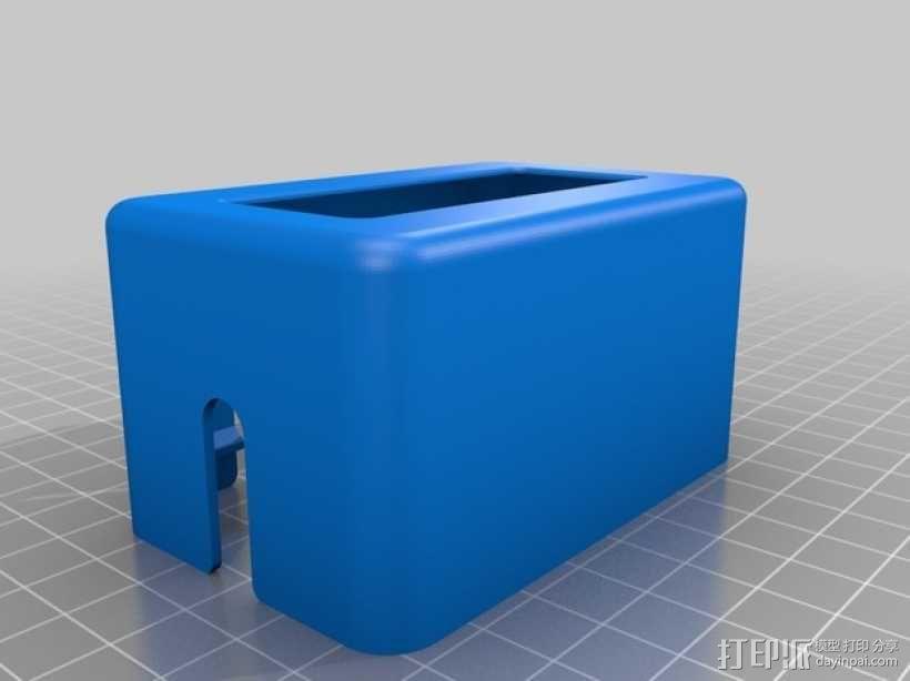 3Drag/K8200 打印机的控制器外罩 3D模型  图1