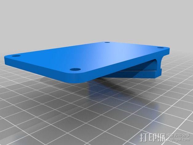 3Drag/K8200 打印机的控制器外罩 3D模型  图4