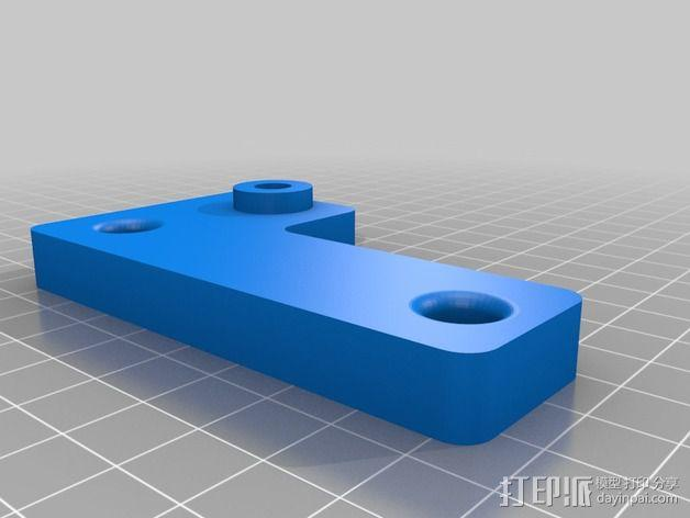 Printrbot Simple 打印机Z轴稳定器 3D模型  图1