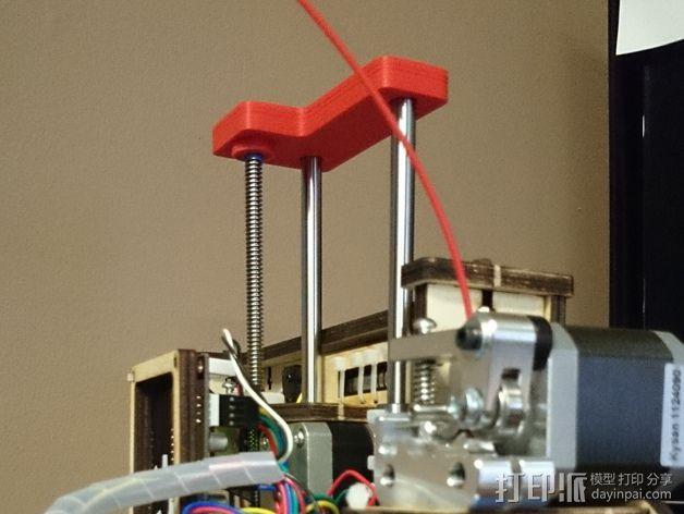 Printrbot Simple 打印机Z轴稳定器 3D模型  图2