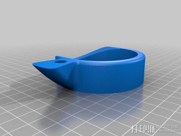 啤酒瓶支架 3D模型  图2