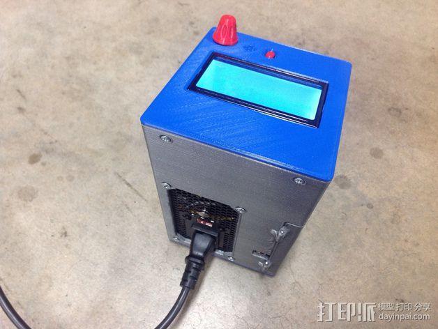 控制器电路板保护罩 3D模型  图5