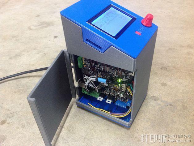 控制器电路板保护罩 3D模型  图4