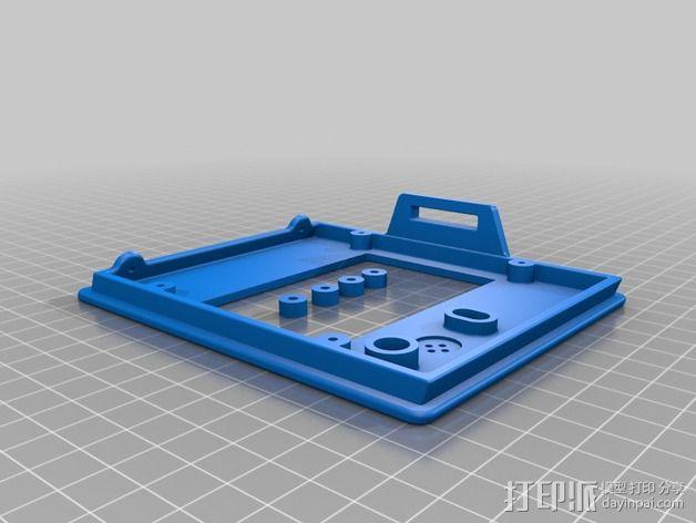 控制器电路板保护罩 3D模型  图9