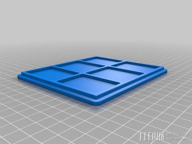控制器电路板保护罩 3D模型  图10