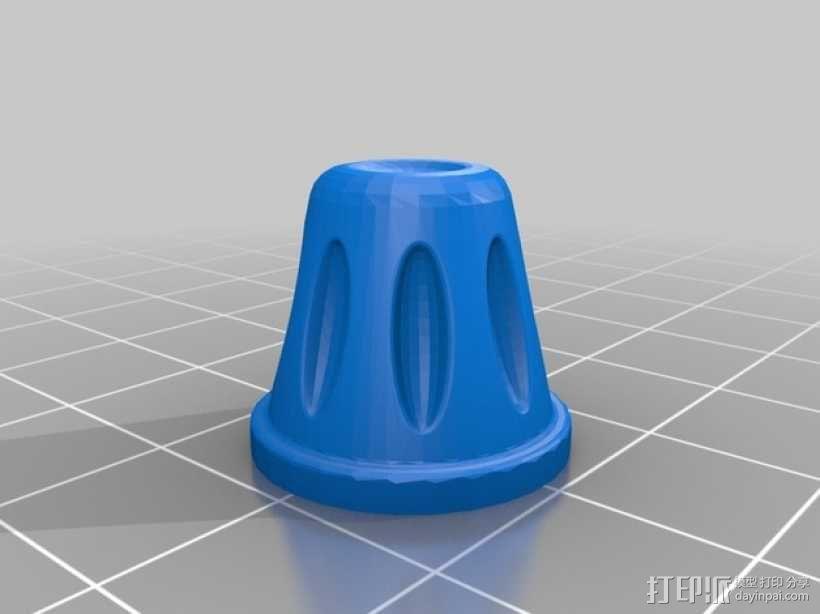 控制器电路板保护罩 3D模型  图11