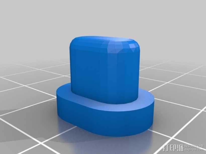 控制器电路板保护罩 3D模型  图12