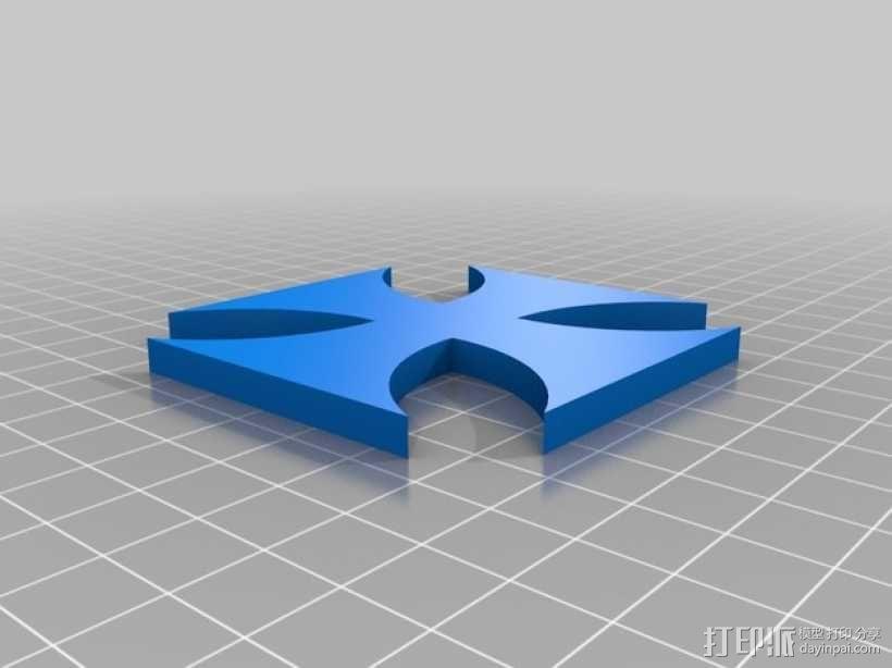 铁十字勋章 3D模型  图1