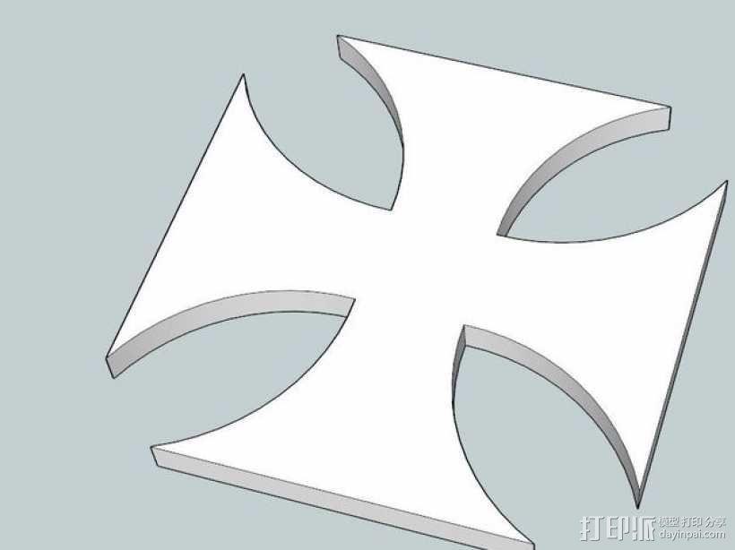 铁十字勋章 3D模型  图2