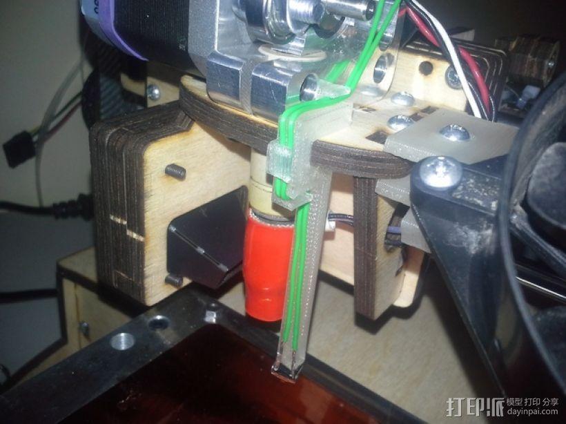 自动调平器探针 3D模型  图1