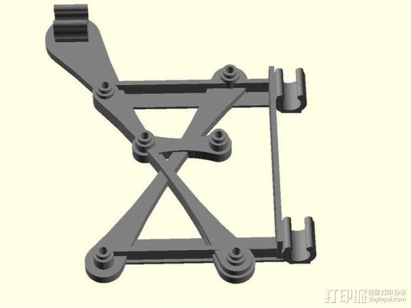 RAMPS电路板支架 3D模型  图1