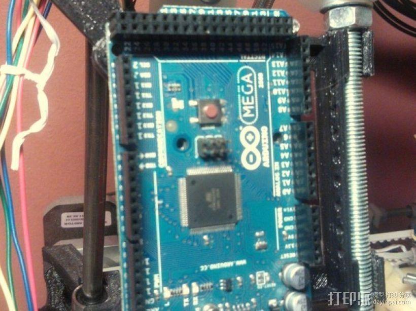 RAMPS电路板支架 3D模型  图4
