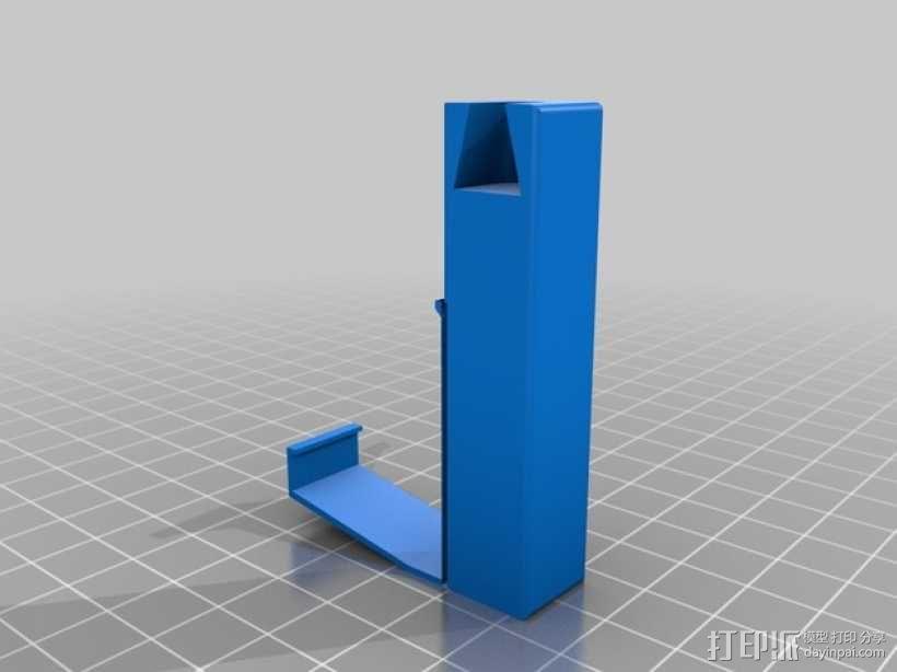 摄像头固定器 3D模型  图4