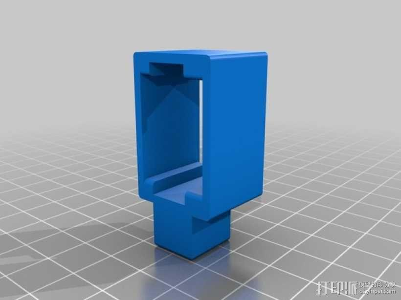 摄像头固定器 3D模型  图3