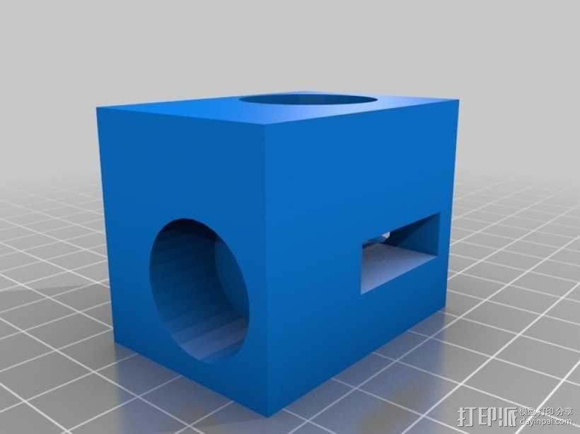 滚铣螺栓 3D模型  图1