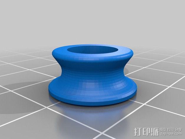 52毫米的线轴 3D模型  图4