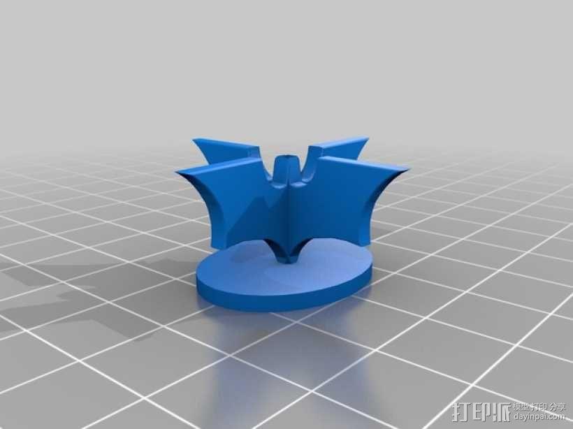 蝙蝠侠象棋 棋子 3D模型  图1