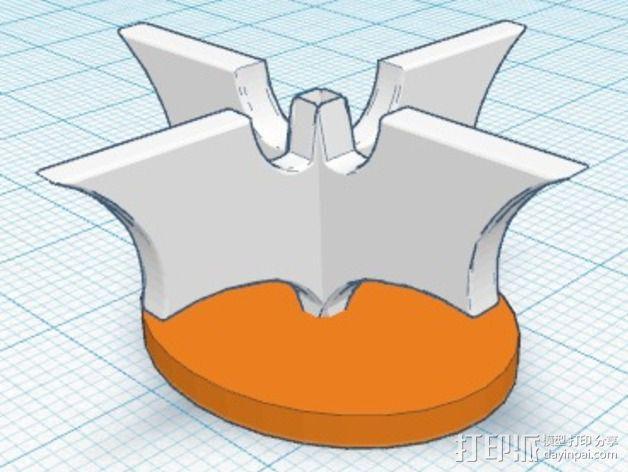 蝙蝠侠象棋 棋子 3D模型  图2