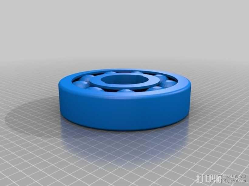 轴承 3D模型  图1