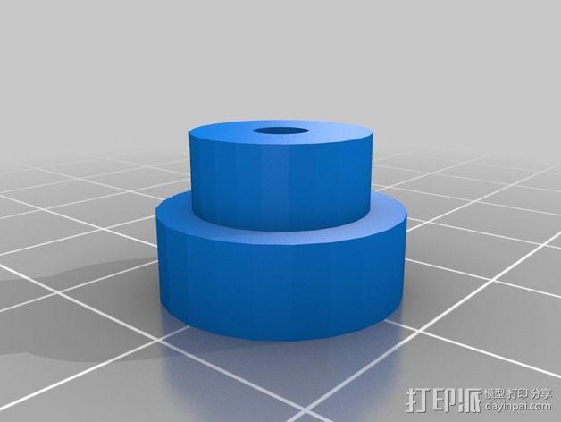 J Head喷头支架 3D模型  图3
