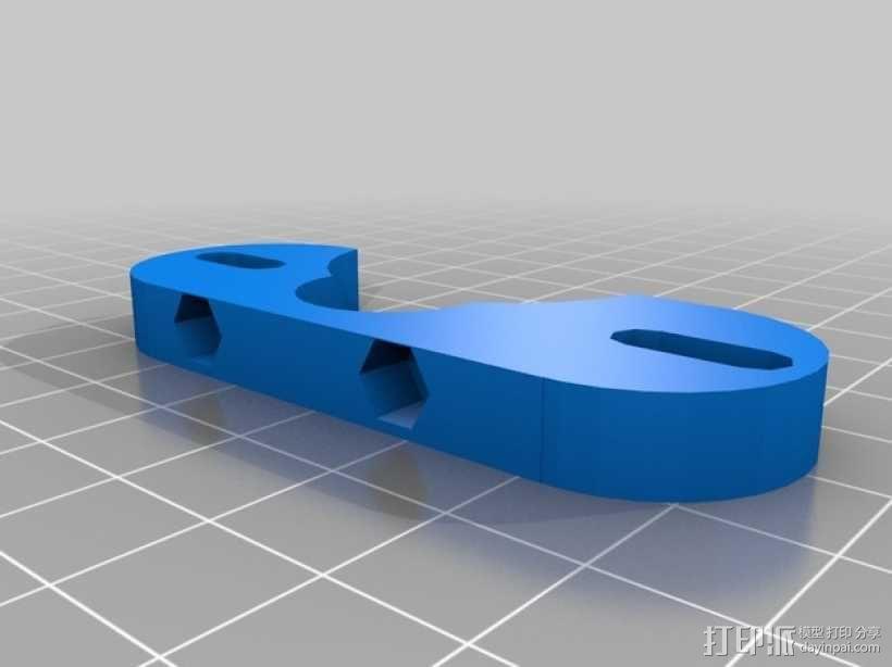 J Head喷头支架 3D模型  图4