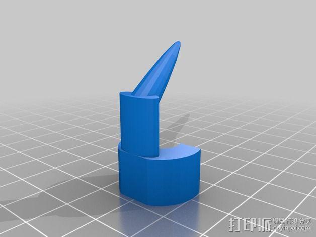 喷枪头 3D模型  图1