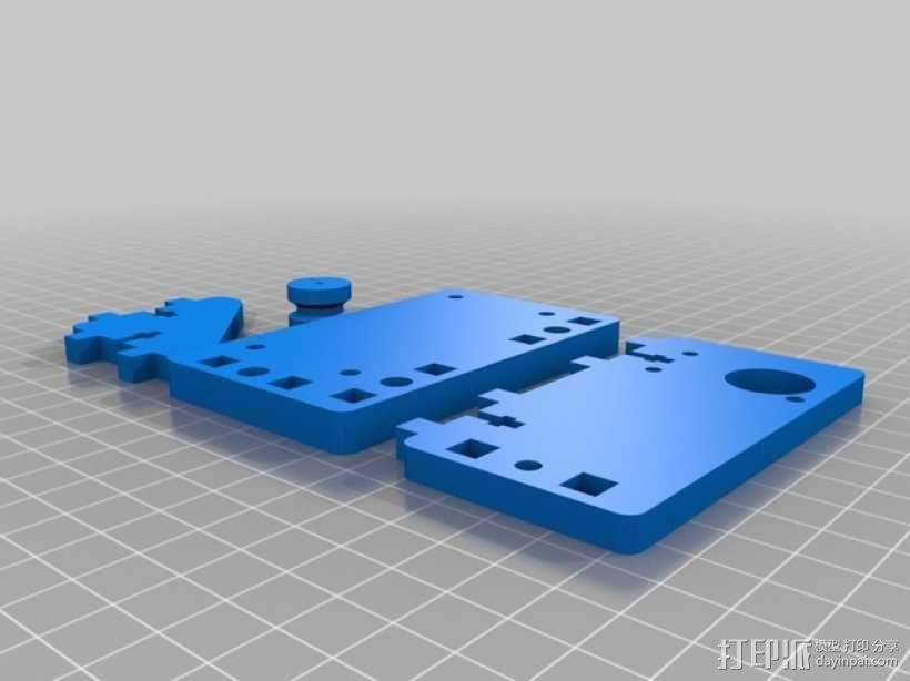 Printrbot Simple打印机的挤出机 3D模型  图2