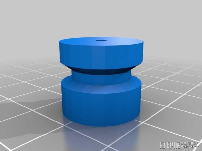 Printrbot Simple打印机的挤出机 3D模型  图4