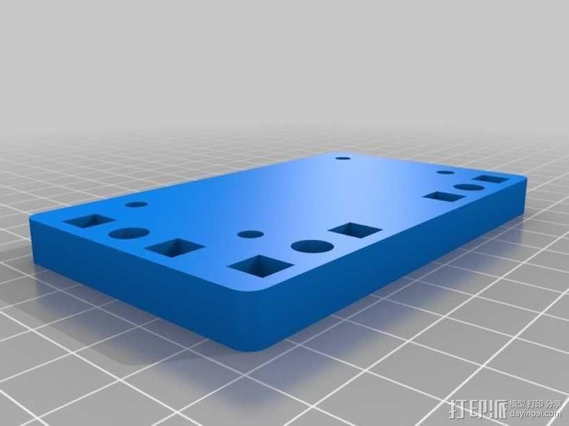 Printrbot Simple打印机的挤出机 3D模型  图5
