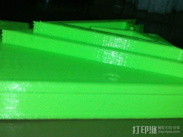 绿箭头皮带搭扣 3D模型  图4