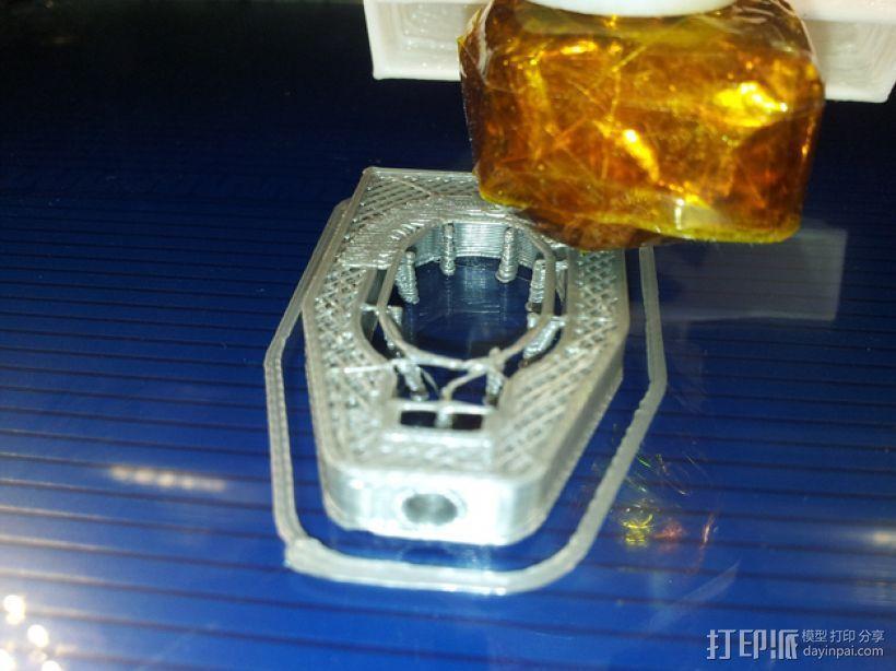 X轴的惰轮支架 3D模型  图10