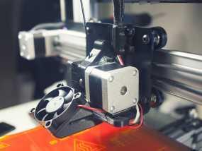 50毫米的风扇通风导管 3D模型