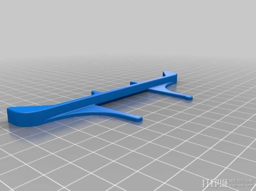 50毫米的风扇通风导管 3D模型  图7