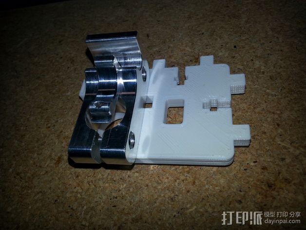 Printrbot打印机的挤出机支架 3D模型  图6