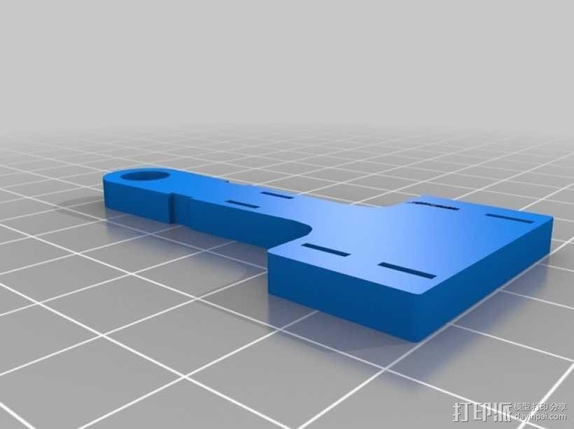 e3d喷头的风扇 3D模型  图2