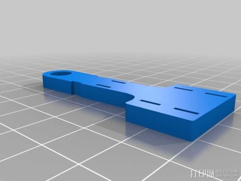 e3d喷头的风扇 3D模型  图4