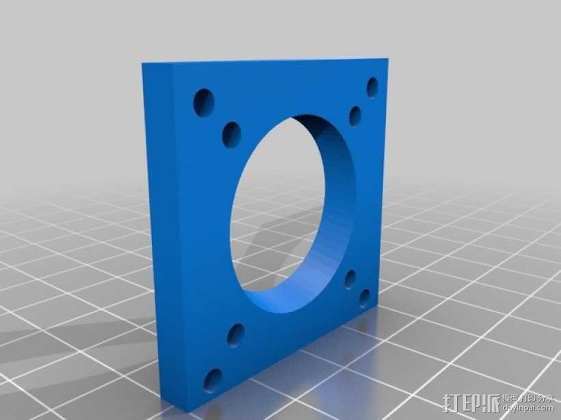 e3d喷头的风扇 3D模型  图6